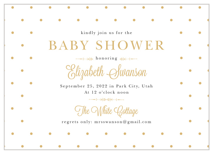 Gender Neutral Baby Shower Invitations Match Your Color Style Free