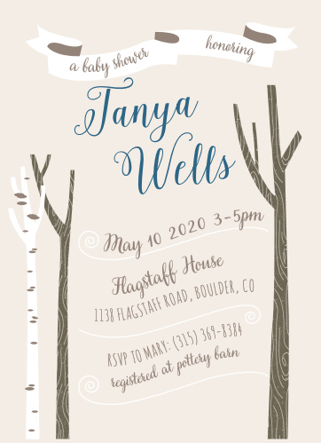 woodland birthday invitations match your color style free