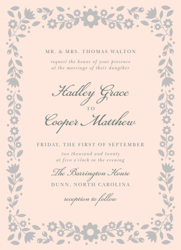 Shine Wedding Invitations Match Your Color Style Free
