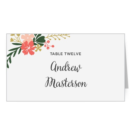 Garden Party Place Card