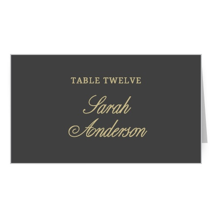 Modern Forever Place Card