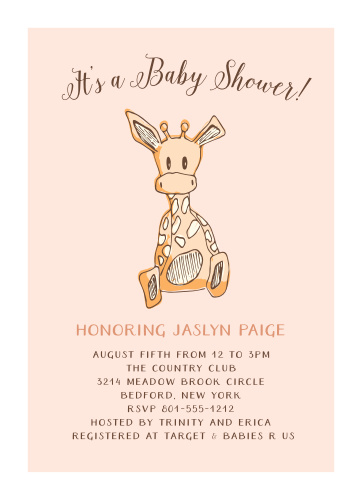 Animal Baby Shower Invitations Match Your Color Style Free