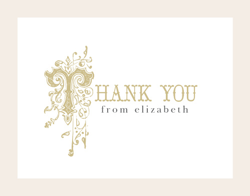 Once Upon A Time Thank You Cards