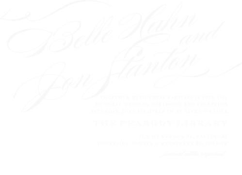 Cheri Clear Wedding Invitations