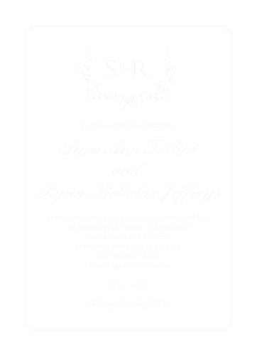 Clear Wedding Invitations Transparent Wedding Invitations Basic