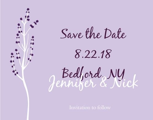 Save The Date Cards | Match Your Colors & Style Free