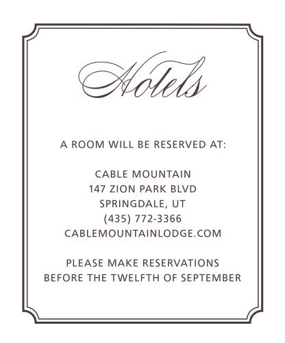 Style & Grace Accommodation Cards