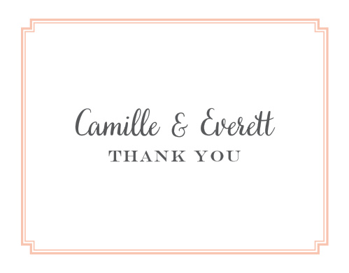 Utterly Chic Thank You Cards