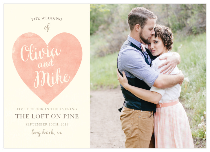 Photo Wedding Invitations | Picture Wedding Invitations