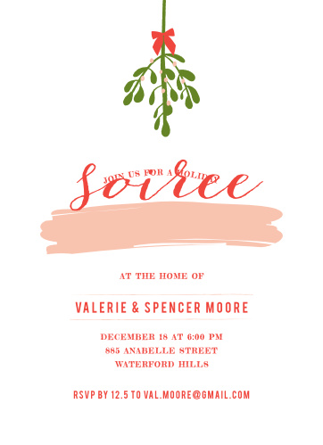 gallery holiday party invitations
