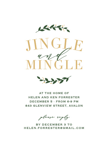 christmas party invitations match your color style free basic