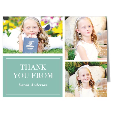 Church Thank You Cards Match Your Color Style Free