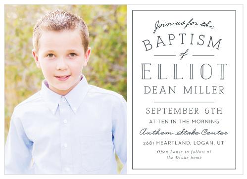 Religious Invitations | Baptism, Christening, Communion