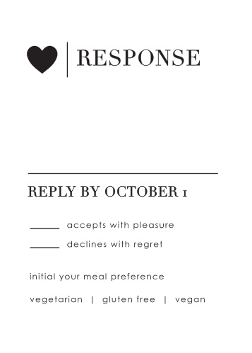 Refined Type Response Cards