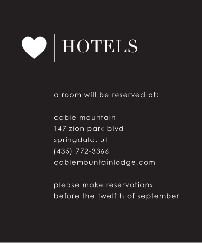 Refined Type Accommodation Cards