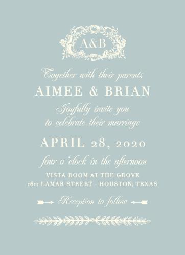 In Cursive Wedding Invitations By Basic Invite