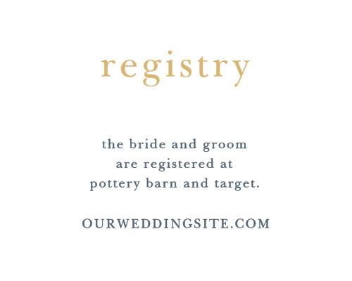 Brushstroke Bliss Foil Registry Cards