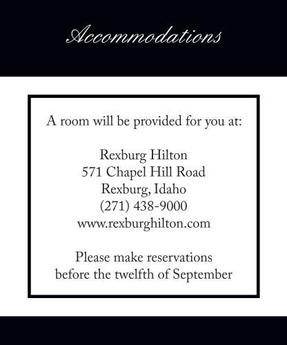 Photo Split Accommodation Cards