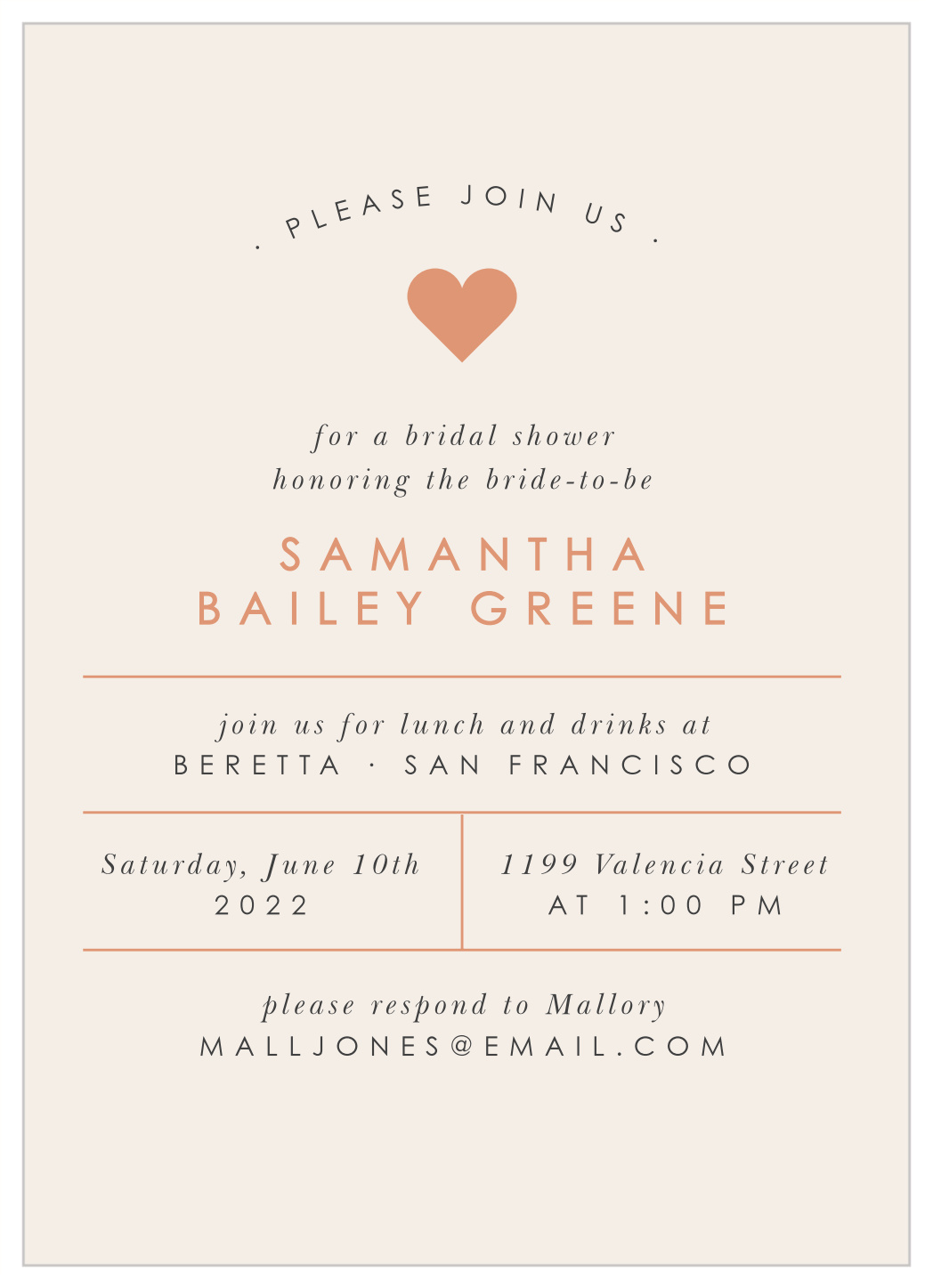 Letterpress Printed Fill In The Blank Bridal Shower Invitations Bridal Shower Blank Invitations