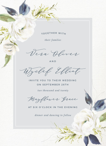 wedding invitation templates match your color style free