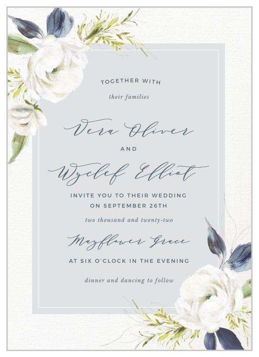 92f620acd21c Wedding Invitations | Match Your Color & Style Free!