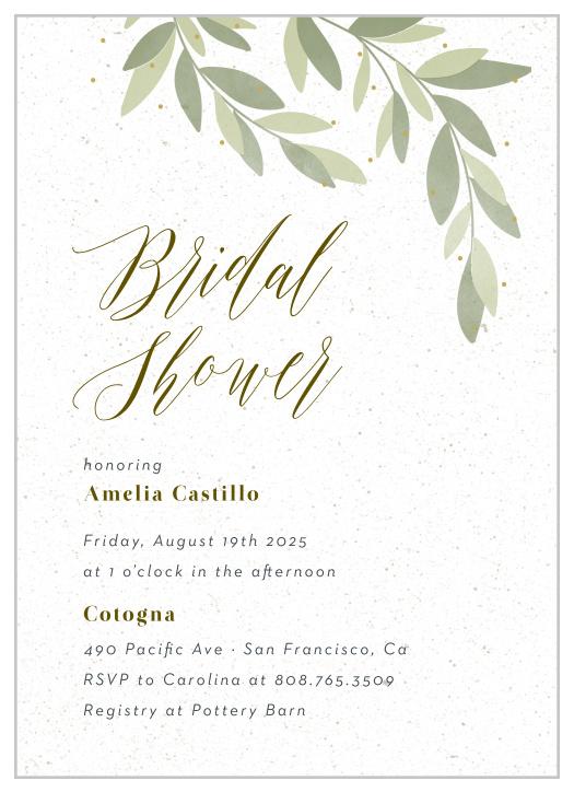 Bridal Shower Invitations Wedding Invitations 50 Fill In Invitations Rehea...