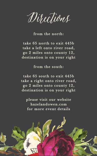 Garden Romance Direction Cards