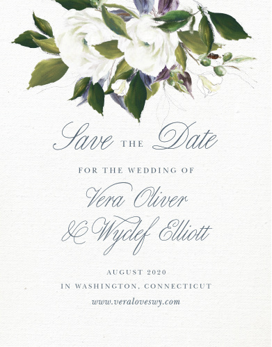 Save The Date Cards Match Your Colors Style Free