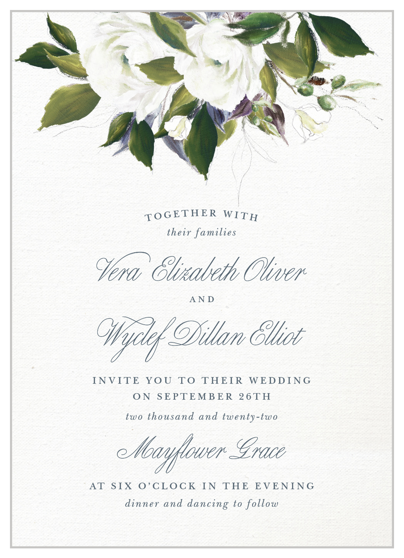 Elegant Aristocrat Wedding Invitations By Basic Invite