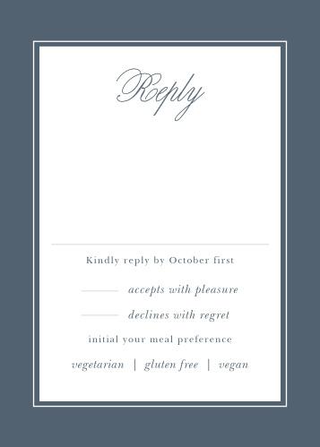 Elegant Aristocrat Response Cards