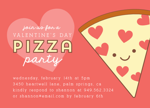 Valentine S Day Party Invitations Match Your Color Style Free