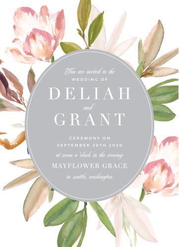 Darling Watercolor Wedding Invitations
