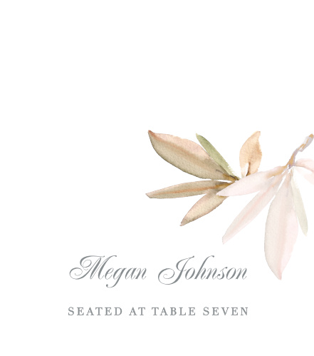 Darling Watercolor Place Cards