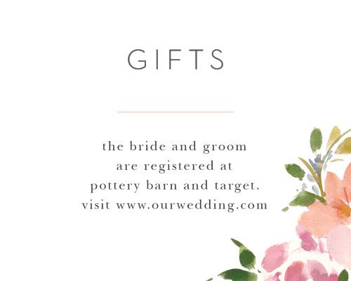 Floral Felicity Registry Cards