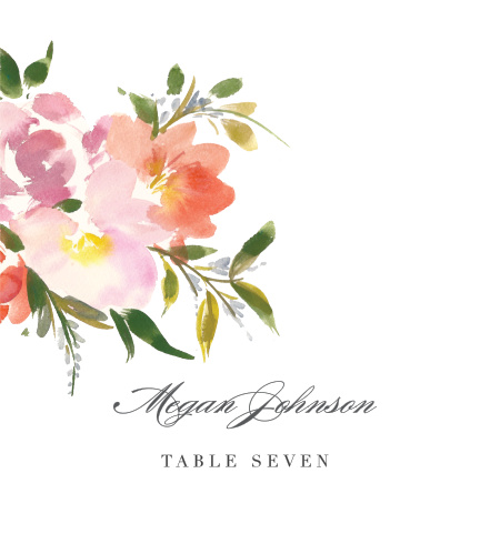 Floral Felicity Place Cards