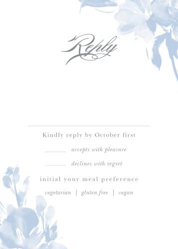 Subtle Fleuriste Response Cards
