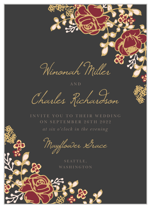 Vibrant Tropical Hawaiian Wedding Invitations