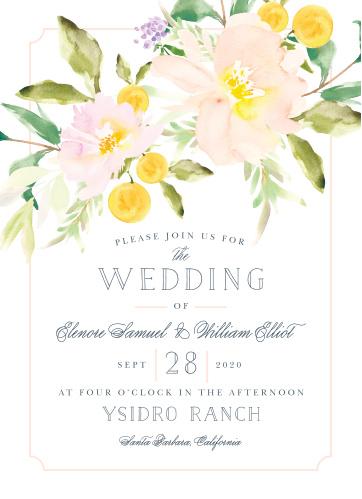 Melodious Melanie Wedding Invitations
