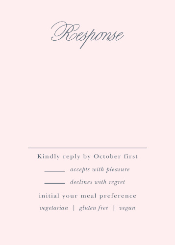 Melodious Melanie Response Cards
