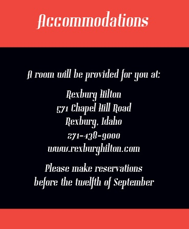 The Forever Photo Accommodation Cards