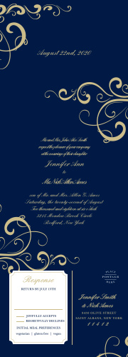 Beautiful Wedding Invitations Match Your Color Style Free