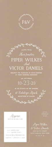 Illustrated Wedding Invitations Match Your Color Style Free