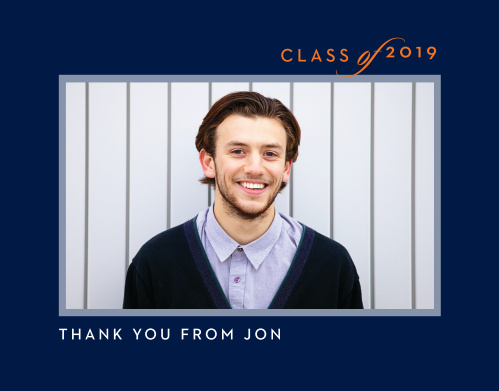 Class & Style Graduation Thank You Cards