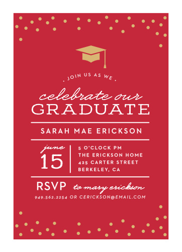 2019 Graduation Party Invitations