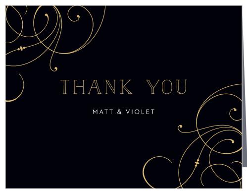 shining swirls wedding thank you cards up l