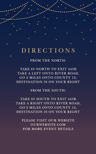 Light & Lantern Direction Cards