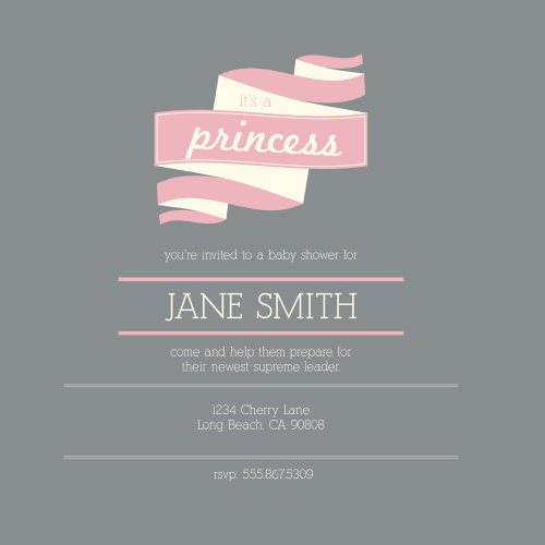Baby Shower Invitations Templates Match Your Color Style Free