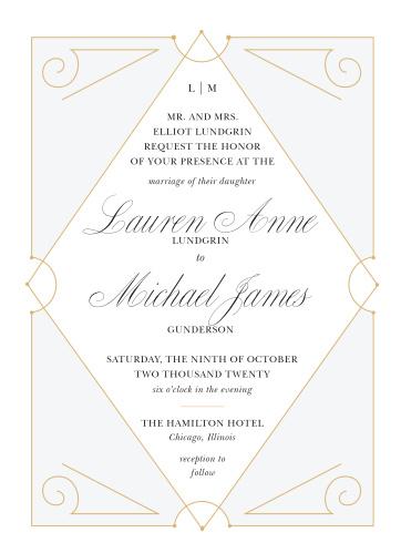 6087ff67e2d4 New Deco Frame Wedding Invitations