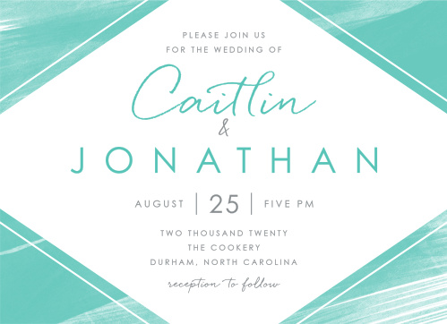 watercolor wedding invitations match your color style free