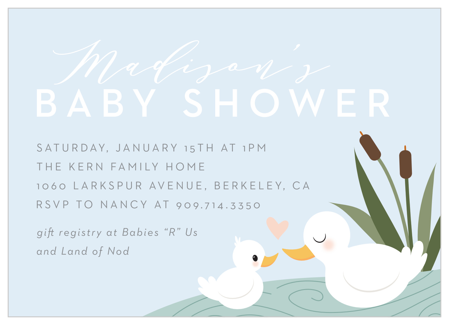 Boy Happy Duck Baby Boy Shower Invitations By Basic Invite